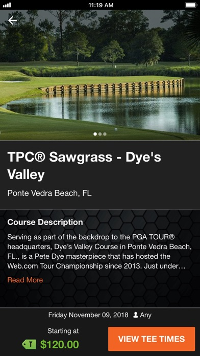 Screenshot for TeeOff by PGA TOUR in United States App Store