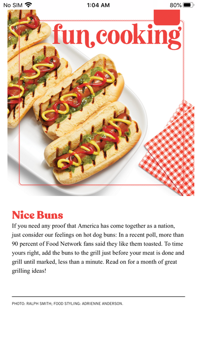 Food Network Magazine Us review screenshots