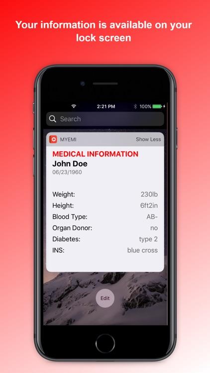 My Emergency Medical Info screenshot-5