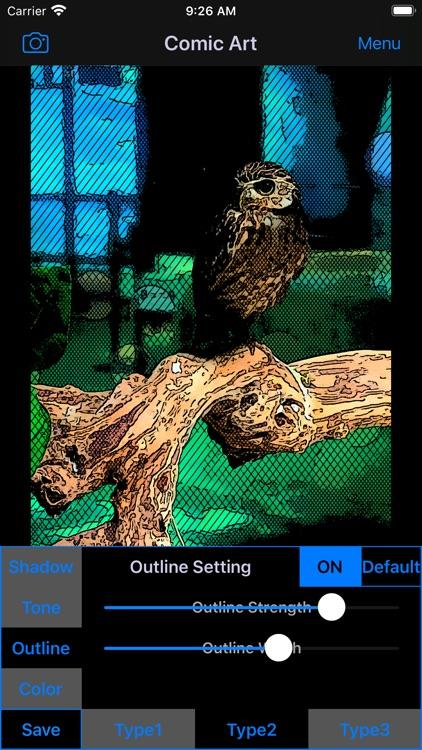 Comic Art - Cartoon Effects screenshot-3
