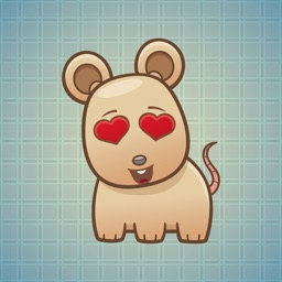 Sticker Me Cute Mouse