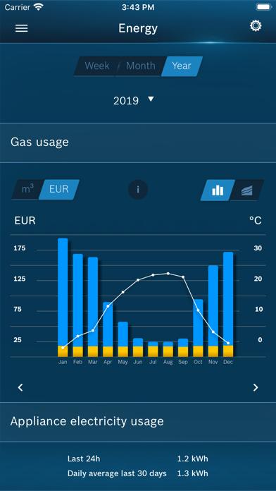 Bosch EasyControl screenshot three