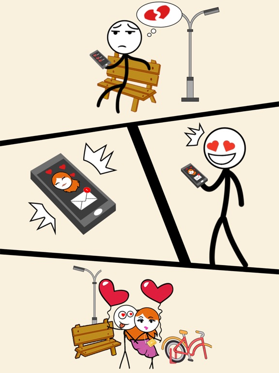 Draw Story: Love the Girl screenshot 10