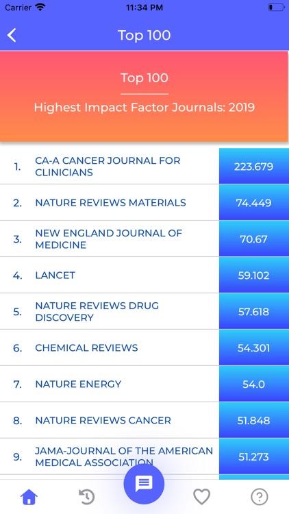 Journal IF screenshot-5