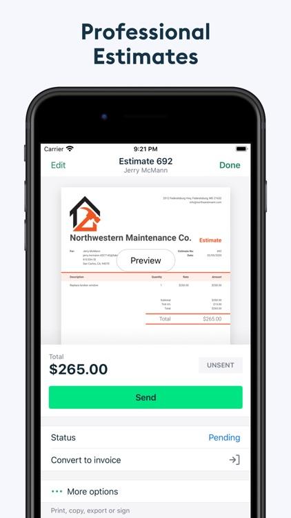Invoice2go: Easy Invoice Maker