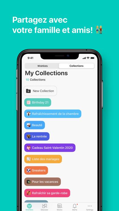 Screenshot #2 pour WishUpon - Wishlist Shopping
