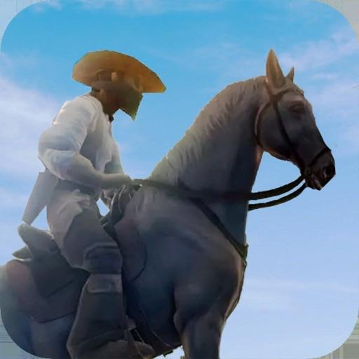 Wild West Cowboy Horse Rider