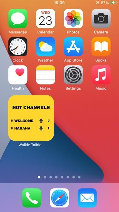 تطبيق «ووكي تاكي» للأصدقاءلقطة شاشة2
