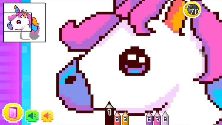 Pixel Arts Color By Numbers