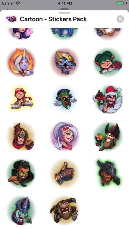 Cartoon - Stickers Pack