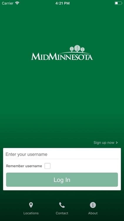 Mid-Minnesota Online Banking