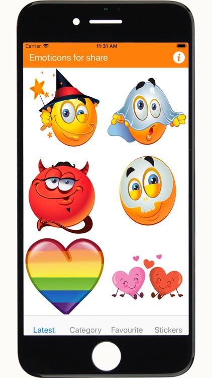 Emoji emoticons for chat screenshot-7