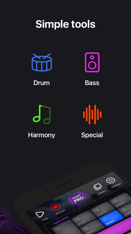 Music Maker App - MuzArt Beats screenshot-2
