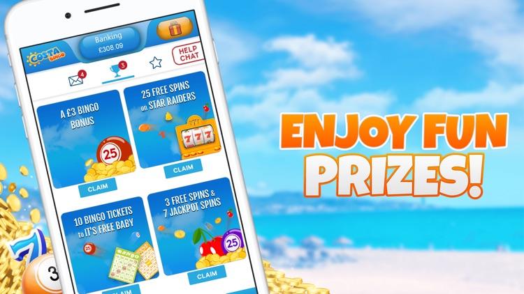 Costa Bingo - Real Money Games screenshot-4