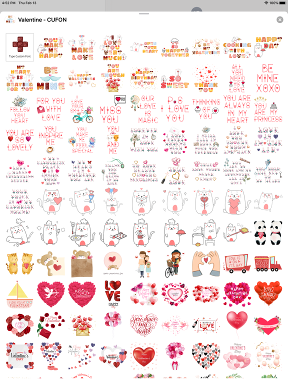 Valentine's Day - Custom Font screenshot 8