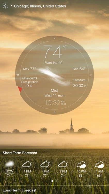 Weather Live° screenshot-1