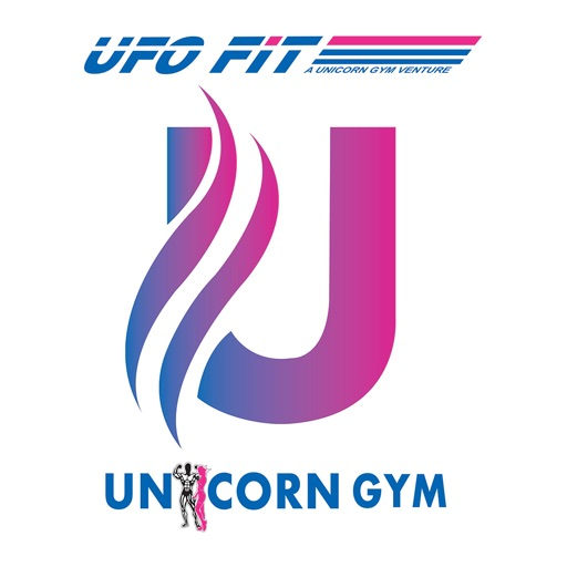 Unicorn & UFO Fit Gym icon