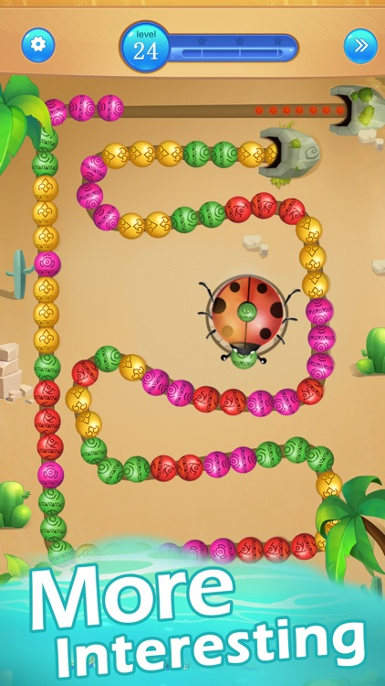 Marble Games-Ball Blast Game screenshot-3