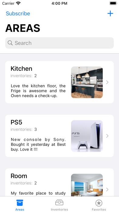 Inventorex Screenshot