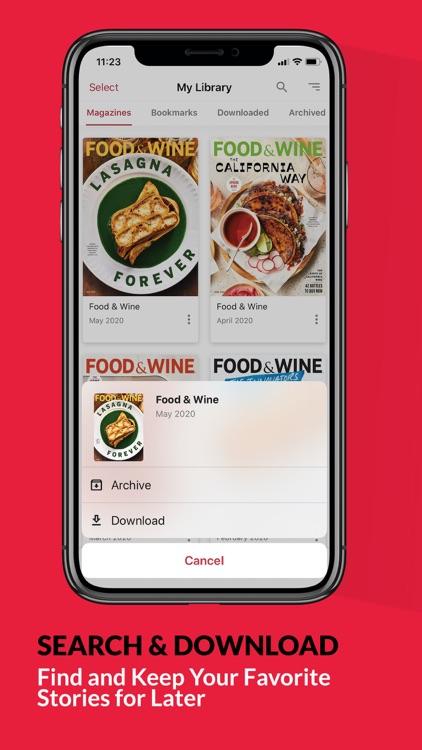 FOOD & WINE screenshot-4