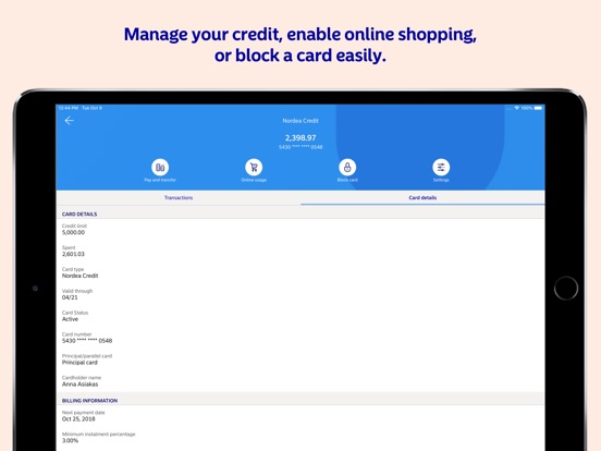 nordea online investering app