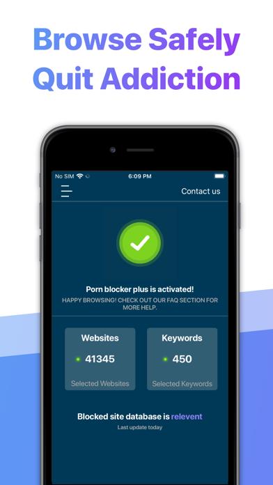 Porn Blocker Plus - for Safariのおすすめ画像1