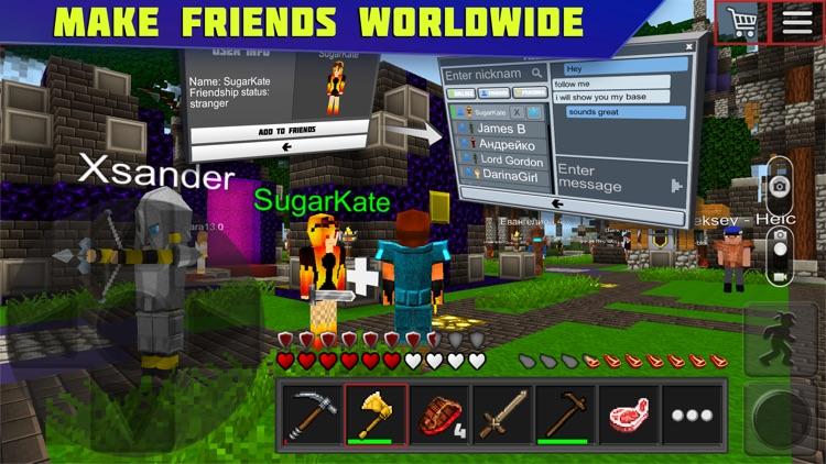 Planet of Cubes Survival Craft screenshot-5