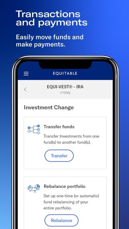 Equitable Mobile App screenshot-4