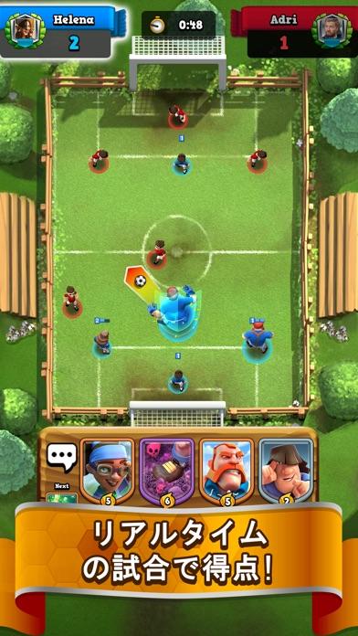 最新スマホゲームのサッカーロワイヤル (Soccer Royale)が配信開始!