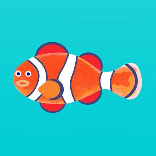 スマホをやめれば魚が育つ(スマホを制限して勉強に集中)