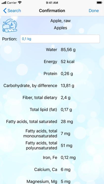 CANC - Nutrients counter screenshot-4