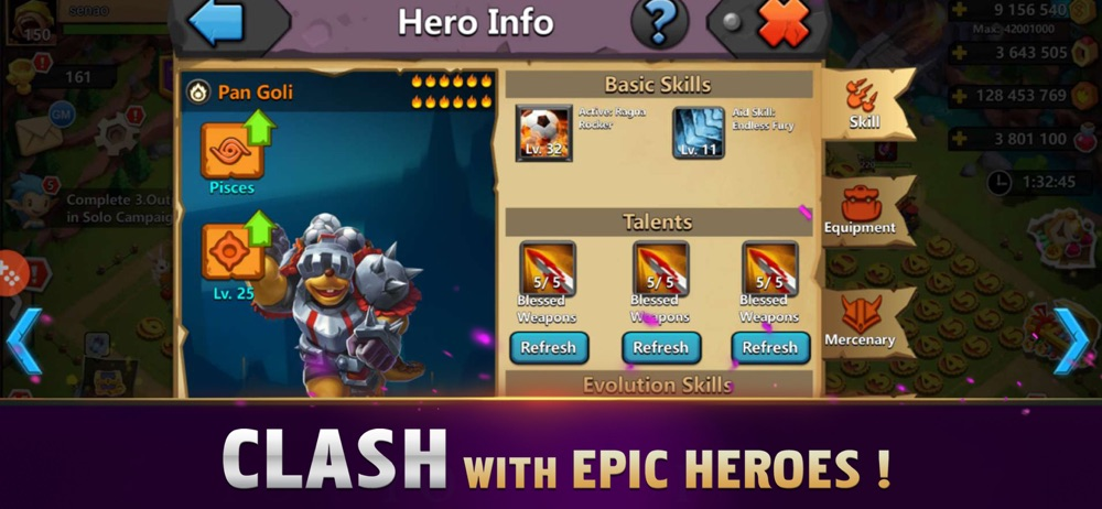 Clash of Lords 2: Guild Castle Cheat Codes