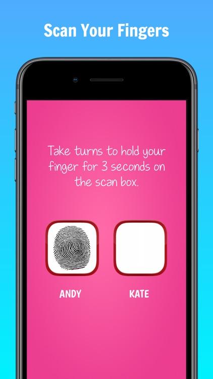 Fingerprint Love Test Scanner