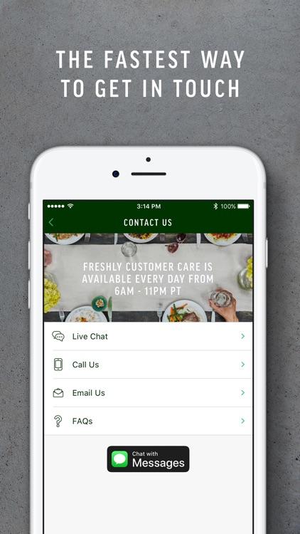 Freshly - Chef Prepared Meals screenshot-3