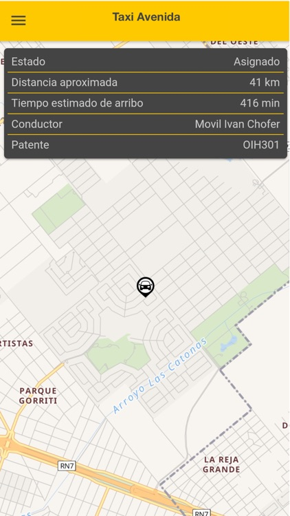 Radio Taxi Avenida screenshot-4