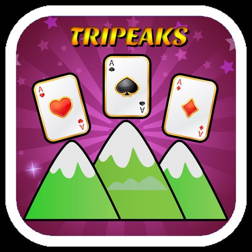 TriPeaks Solitaire Cards Game