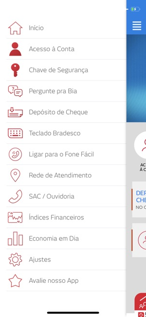 Bradesco Screenshot