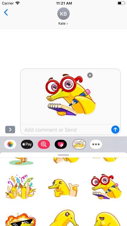 Mr. Banana Stickers Pack screenshot-6