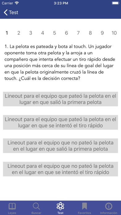 Screenshot for Leyes del Juego in Venezuela App Store