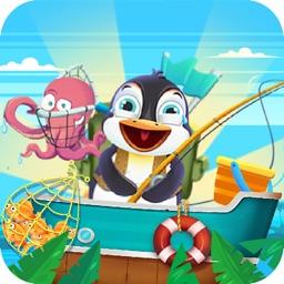 Penguin Fishing Mania