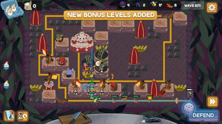 Defend the Cake Tower Defense screenshot-4