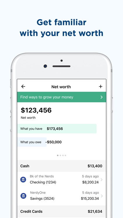 NerdWallet: Finance Tracker