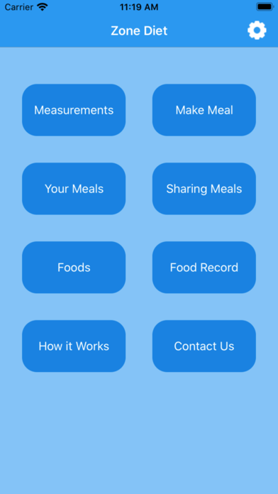 Zone Diet Screenshots