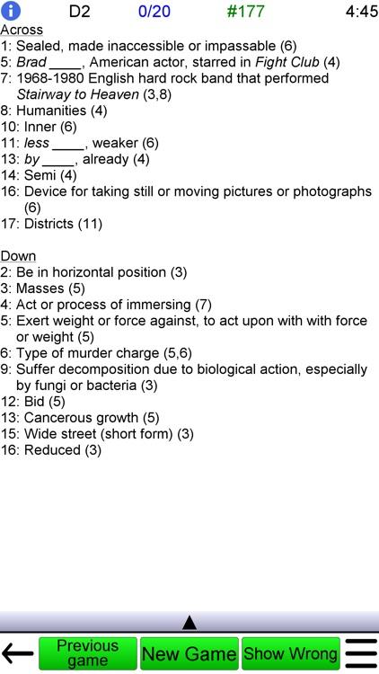 Crossword Unlimited screenshot-6