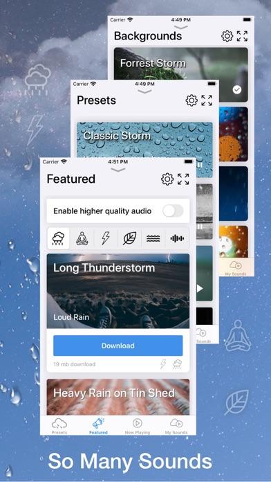 Infinite Storm: Rain Soundsのおすすめ画像2