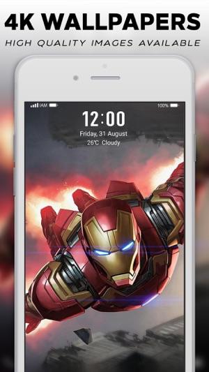 4K Superheroes Wallpapers on the App Store