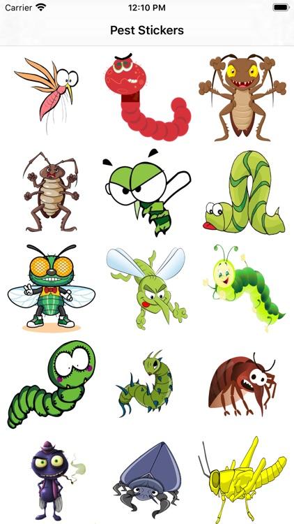害虫来了-Stickers