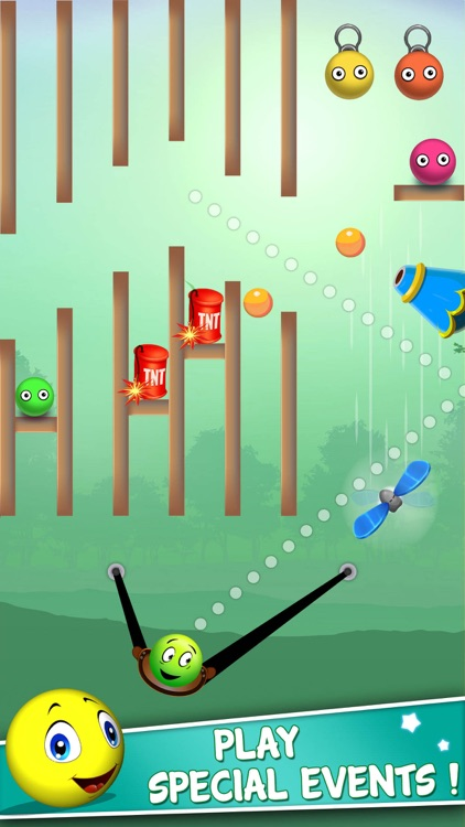 Bounce Ball Shooter: Slingshot screenshot-0