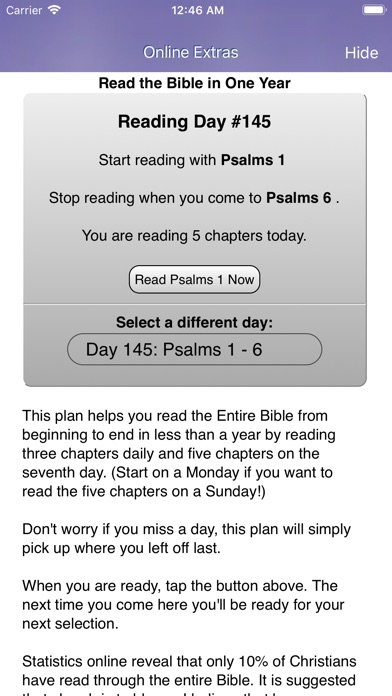 Screenshot for Touch Bible Loaded: Study App in United States App Store