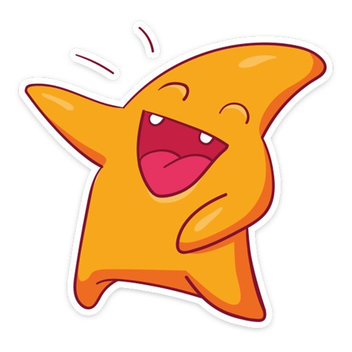 Star Cute Pun Funny Stickers